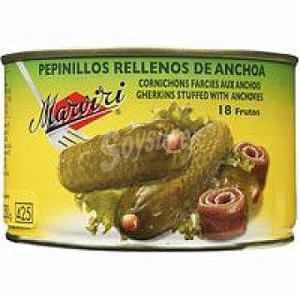 MARVIRI Pepinillos con anchoa Lata 250 g
