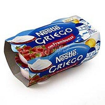 Nestlé Nestlé Yogur griego con frambuesa 4x120g 4x120g