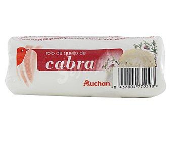 Auchan Rulo queso de cabra fresco 180 gramos
