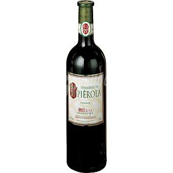 Pierola Vino tinto crianza D.O. Rioja botella 75 cl Botella 75 cl
