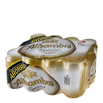Alhambra Cerveza especial Pack 12x33 cl