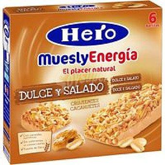 Hero Barrita Dulce/Salado 6u