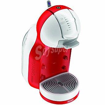 DELONGHI EDG305 Cafetera Mini Me automática para cápsulas Dolce Gusto en color rojo y blanco