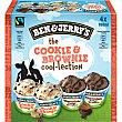 Tarrinas helado de crema con cookies y chocolate con brownie 2 unidades estuche 400 ml 2 unidades Ben & Jerry's