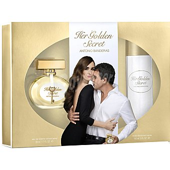 ANTONIO BANDERAS Her Golden Secret eau de toilette natural femenina... Spray 50 ml