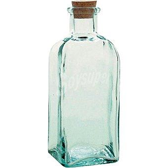 QUID Botella Cuadrada con tapón de corcho 1/4 l 1/4 l
