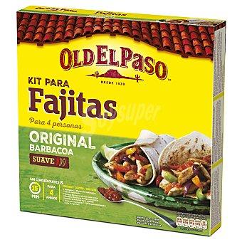 Old El Paso Fajita kit estuche 500 g 8 unidades (500gr)