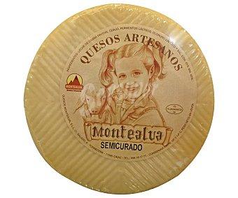 Montealva Queso de cabra semicurado 450 gramos aproximados