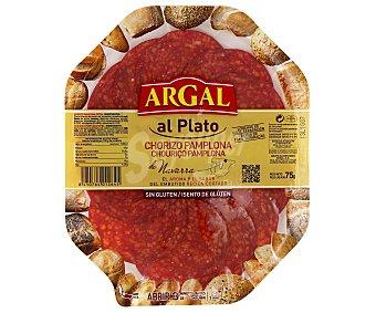 Argal Chorizo Pamplona de Navarra Sin Gluten Plato 75 Gramos