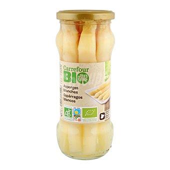 Carrefour Bio Espárragos blancos extra 205 g