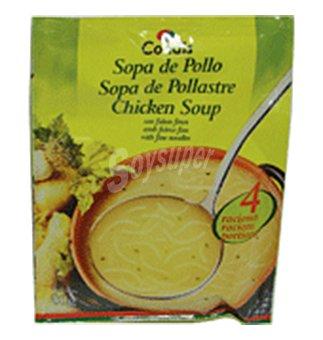Condis Sopa de pollo con fideos finos 80 GRS