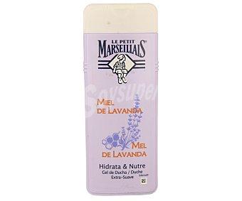 Le Petit Marseillais Gel de baño de miel de lavanda hidrata y nutre Frasco 400 ml