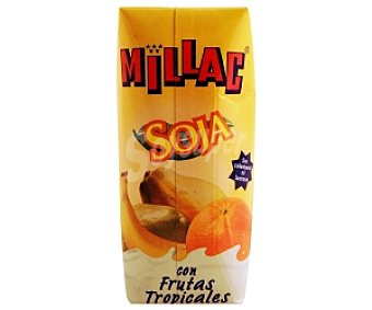 Millac Leche-fruta soja 330ML