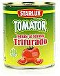 Tomate al natural triturado lata 800 g Starlux