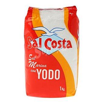 COSTA Sal con yodo Paquete 1 kg