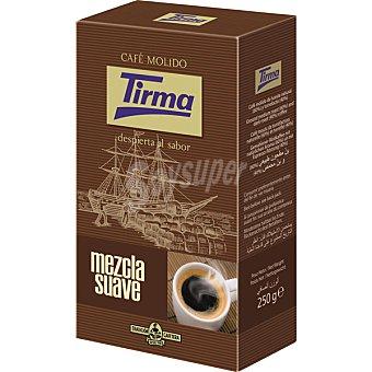 Tirma Café molido mezcla suave al vacío Envase 250 g