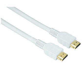 Qilive Cable de hdmi macho a hdmi mcho de 1.5metros, blanco, terminales dorados hdmi-hdmi