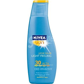 Nivea Sun Leche solar FP-30 Sun Light Feeling Frasco 200 ml