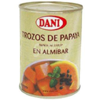 Dani Papaya en trozos Lata 340 g