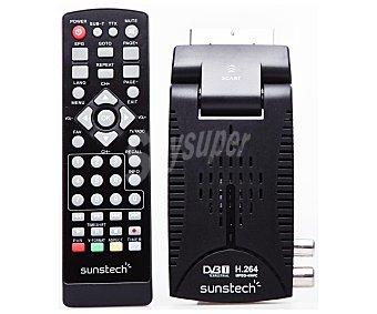 SUNSTECH DTBP600HD Receptor tdt hd de alta definición, hdmi y puerto USB reproductor y grabador