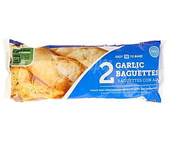 EASIBAKE Baguettes con ajo 2 unidades (340 gramos)