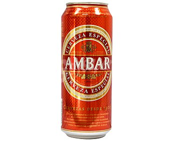 Ambar Cerveza Lata 50 cl