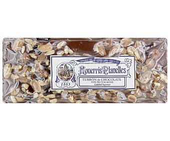 Monerris Planelles Turrón de chocolate con frutos secos y arándanos 300 gramos