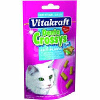 Vitakfraft Denta Crossy snak para gato Pack 1 unid