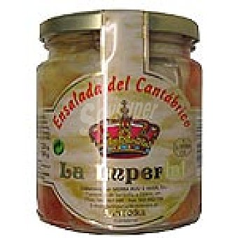 La imperial Ensalada de cangrejo del Cantábrico Frasco 225 g neto escurrido