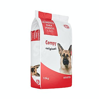 Compy Comida perro seca original adulto razas medianas y grandes Paquete 18 kg