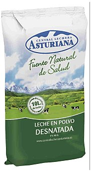 Central Lechera Asturiana Leche polvo desnatada Paquete 1kg