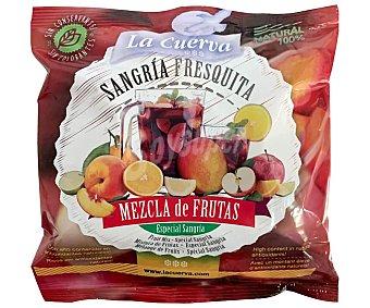 La Cuerva Mezcla de frutas troceadas y congeladas, especiales para hacer sangria 300 g