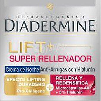 Diadermine Crema lift+super Rellenador de noche Tarro 50 ml