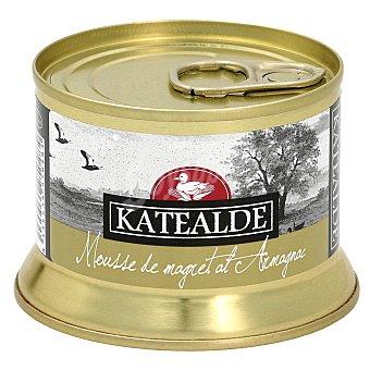 Katealde Mousse de magret de pato al armagnac tarro 130 gr tarro 130 gr