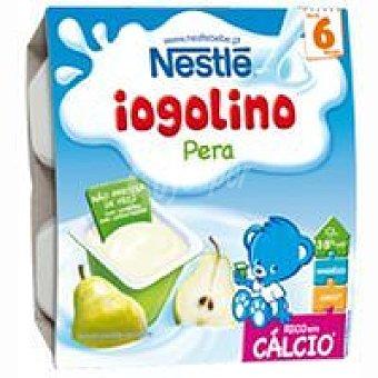 Nestlé Iogolino de pera Pack 4x100 g