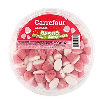 """Carrefour Gominolas """"besos"""" de fresa y nata 600 g"""