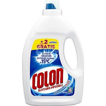 Colón Detergente máquina líquido gel azul concentrado + 2 gratis Botella 32 dosis