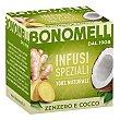Infusión de jengibre y coco 20 G 20 g Bonomelli