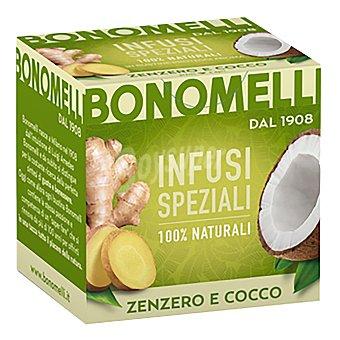 Bonomelli Infusión de jengibre y coco 10 ud