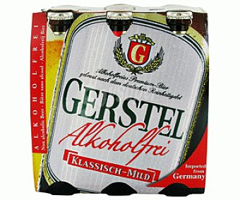 Gerstel Cerveza sin alcohol Pack de 6 botellas de 33 centilitros