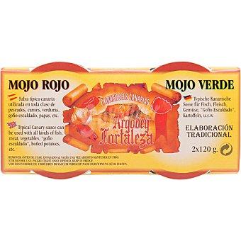 Argodey fortaleza Mojo rojo + mojo verde envase 120 g Envase 120 g