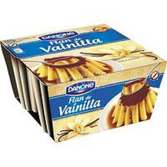Danone Flan de vainilla Pack 4x110 g