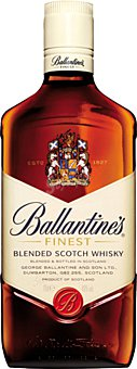 BALLANTINES Whisky botella 1 litro