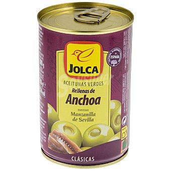 Jolca Aceitunas verdes rellenas de anchoa 150 g
