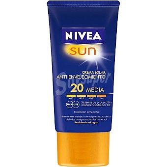 Nivea Sun Crema solar antienvejecimiento FP-20 Sun Tubo 50 ml
