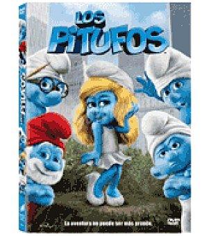 LOS PITUFOS I ring pitufina dvd 3D