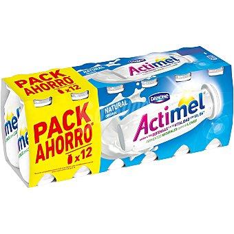 Actimel Danone Actimel yogur para beber natural 12 unidades de 100 ml