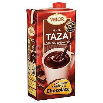Valor Cacao a la taza listo para tomar Brik 1 l