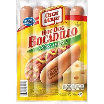 Oscar Mayer Salchicha bocadillo extra queso 275 g