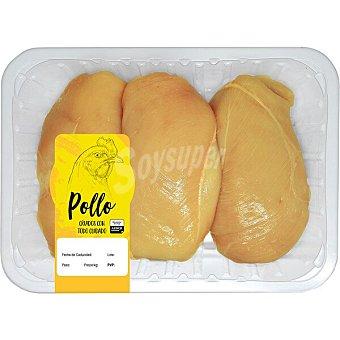 Sada Pollo Amarillo pechuga entera formato ahorro peso aproximado Bandeja 1,2 kg